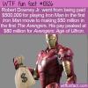 WTF Fun Fact – Iron Man Making Money