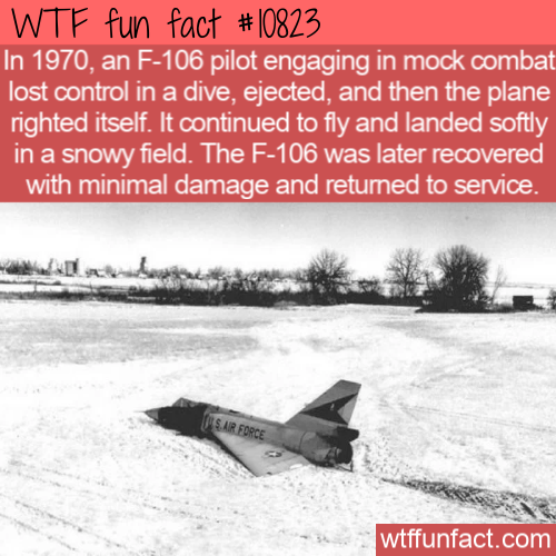 WTF Fun Fact - F-106 Landed Itself