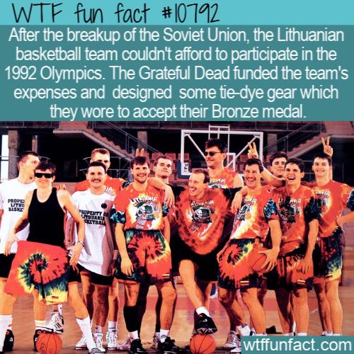 WTF Fun Fact - Lithuanian Tie Dye