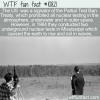 WTF Fun Fact – Nuclear Tests In Mississippi