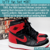 WTF Fun Fact – Air Jordans Banned
