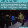 WTF Fun Fact – Fake Refugee Camp