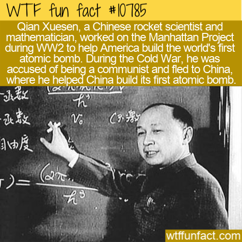 WTF Fun Fact - Qian Xuesen