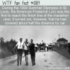 WTF Fun Fact – Marathon By Car