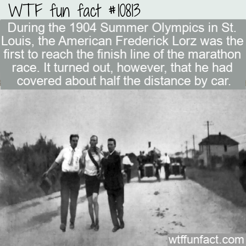 WTF Fun Fact - Unbelievable Marathon In St. Louis