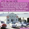 WTF Fun Fact – WD-40
