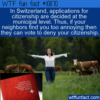 WTF Fun Fact – Switzerland Democracy