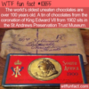 WTF Fun Fact – Oldest Chocolates