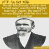 WTF Fun Fact – Ranald MacDonald