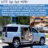 WTF Fun Fact – Tom Brady's Escalade