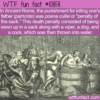 WTF Fun Fact – Penalty Of The Sack