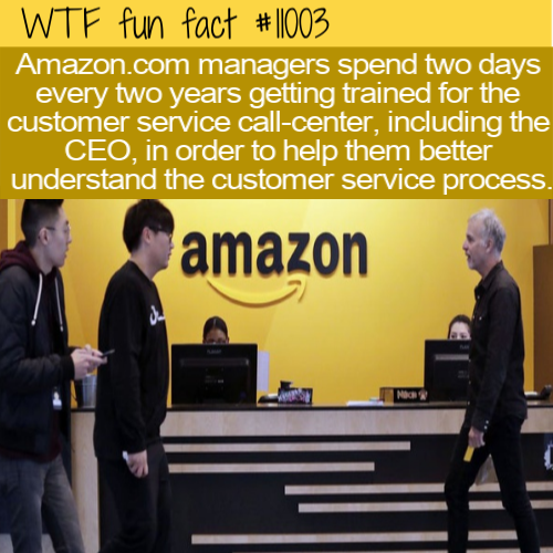 WTF Fun Fact - Amazon Always For Customers