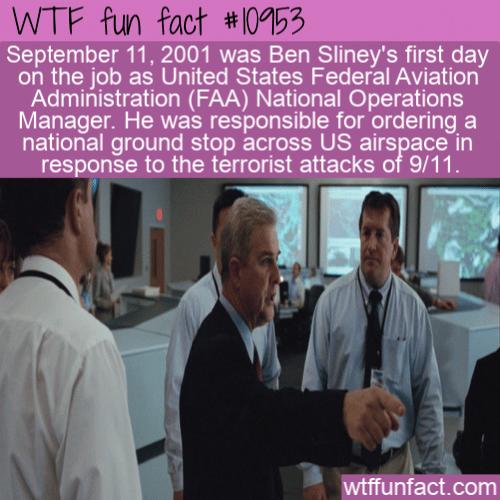WTF Fun Fact - Ben Sliney