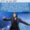WTF Fun Fact – Bruce Dickinson Polymath
