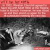 WTF Fun Fact – Churchill And Hitler Tea Party