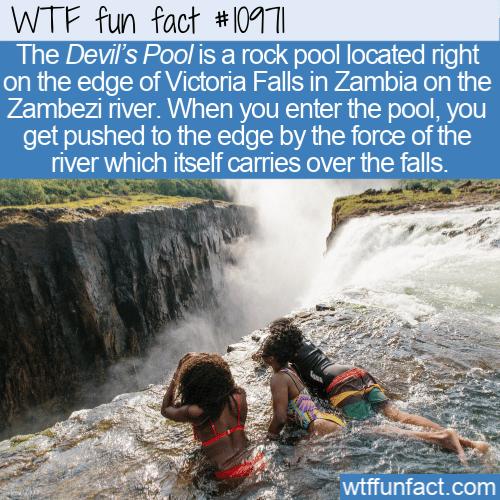 WTF Fun Fact - Devil's Pool