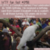 WTF Fun Fact – Fred's 100th Birthday