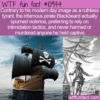 WTF Fun Fact – A Non-violent Blackbeard
