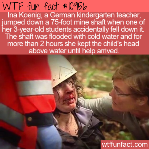WTF Fun Fact - Ina Koenig Hero