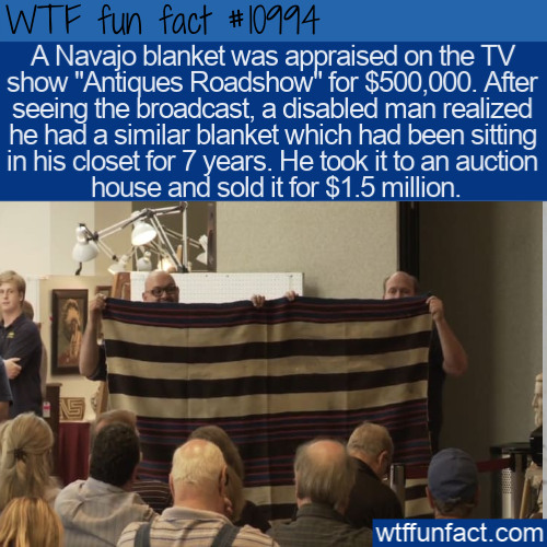 WTF Fun Fact - Navajo Blanket