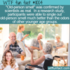 WTF Fun Fact – Old-person Smell