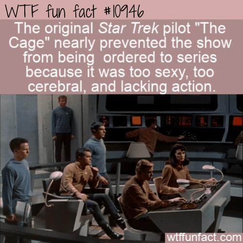 WTF Fun Fact - Star Trek Too Erotic