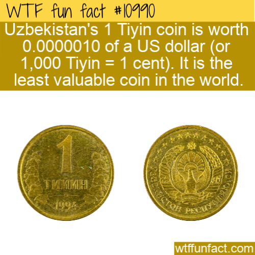 WTF Fun Fact - Tiyin