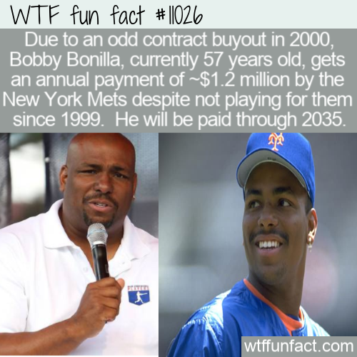 WTF Fun Fact - Bobby Bonilla Day
