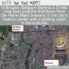 WTF Fun Fact – Bruges Beer Pipeline