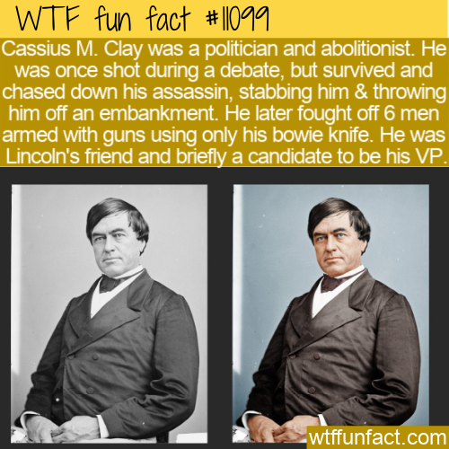 WTF Fun Fact - Cassius Marcellus Clay