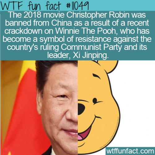 WTF Fun Fact - Christopher Robin Banned