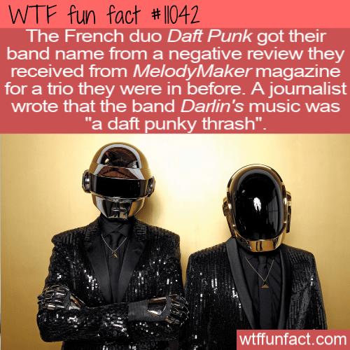 WTF Fun Fact - Daft Punk Name