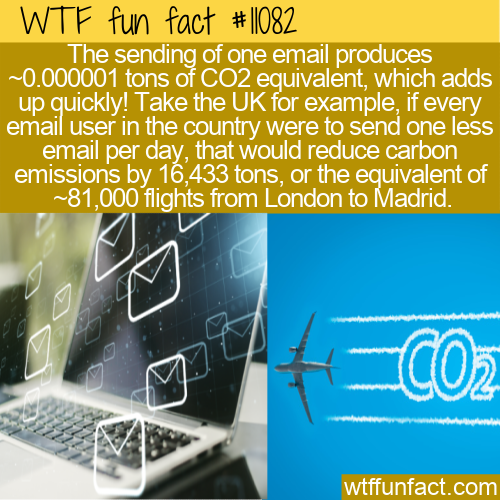 WTF Fun Fact - Email Pollution