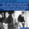 WTF Fun Fact – A Year Of Starving