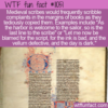 WTF Fun Fact – How Scribes Vent
