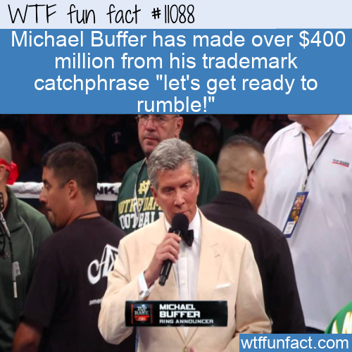 WTF Fun Fact - Lets Get Ready To Rumble