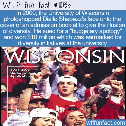 WTF Fun Fact - Making UW Actually More Diverse