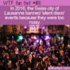 WTF Fun Fact – Silent Disco's Too Noisy