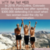 WTF Fun Fact – Topless Ban Costs $300k