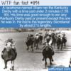 WTF Fun Fact – A Horseracing Sham