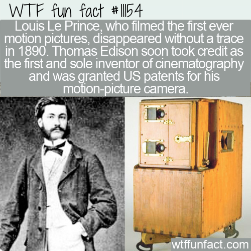 WTF Fun Fact - Inventor Of Cinematography