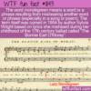 WTF Fun Fact – Mondegreen