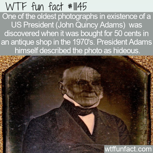 WTF Fun Fact - Old US President Photograph $.50 (1)