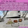 WTF Fun Fact – Selfie Toaster