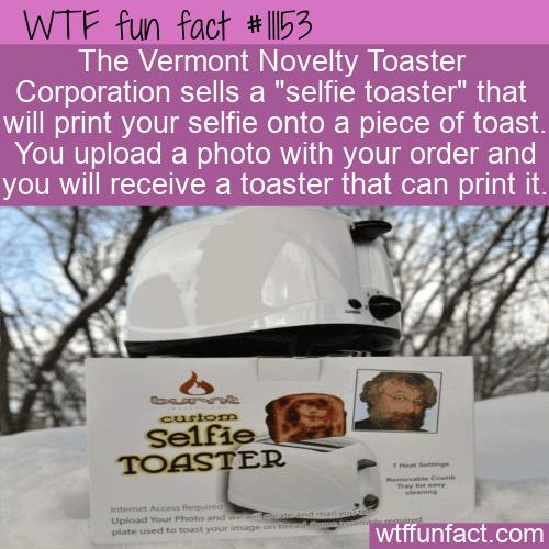 WTF Fun Fact - Selfie Toaster