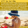 WTF Fun Fact – Sunscreen Ban