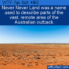 WTF Fun Fact – The Real Never Never Land