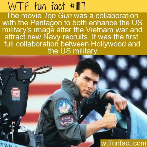 WTF Fun Fact - Top Gun