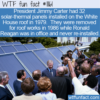 WTF Fun Fact – White House Solar Panels