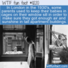 WTF Fun Fact – Baby Window Cage